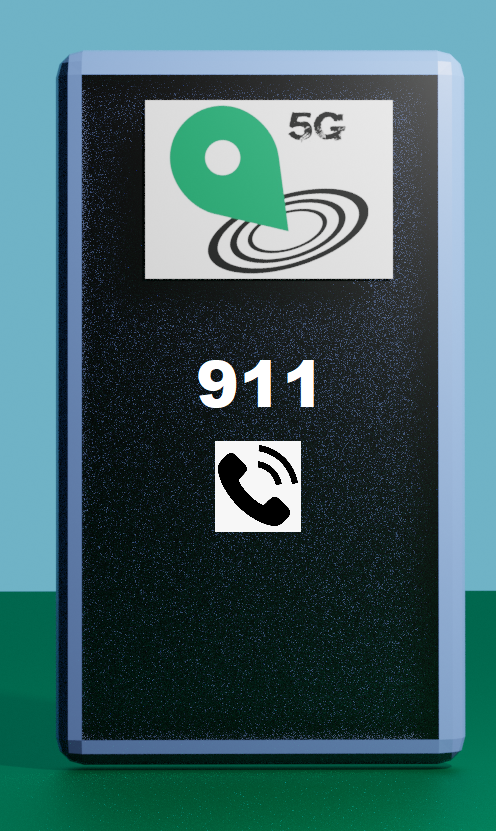 Positioning during emergency calls: phone calling 911.